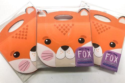 Carry along fox sketch book