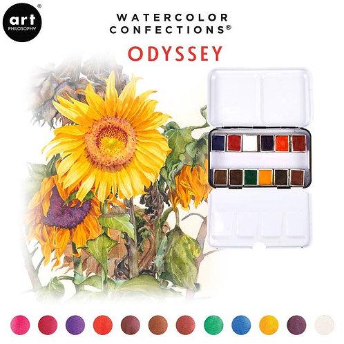 Water colour travel set