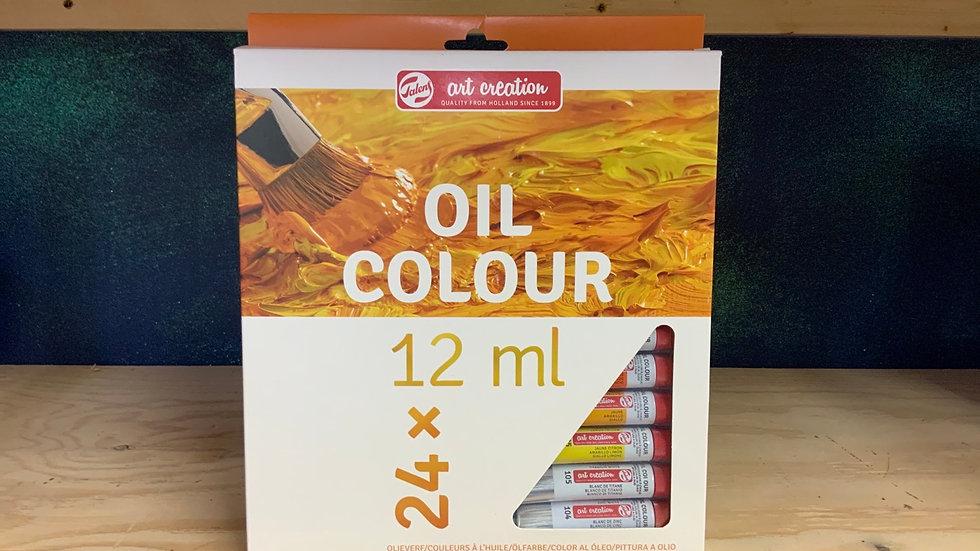 Art Creation Oil Colour set of 24