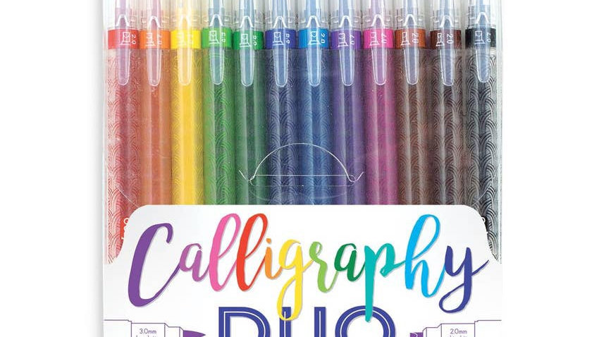 Calligraphy marker set