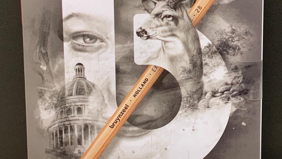 Bruynzeel 12 x Graphite Pencils