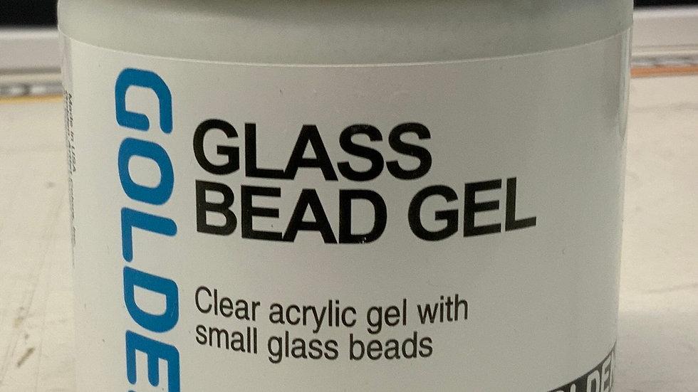 Golden Glass Bead Gel