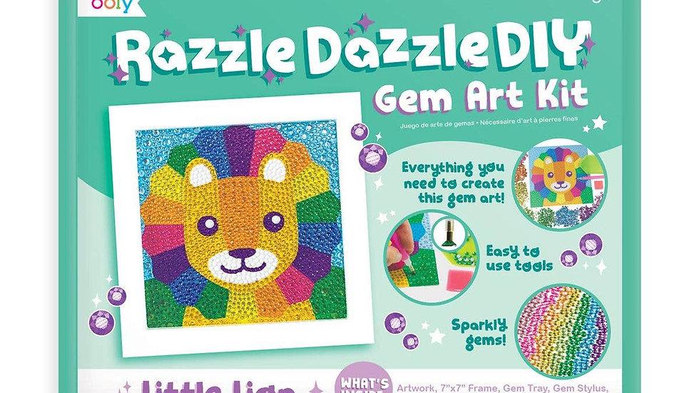 Little lion Razzle Dazzle Gem art kit