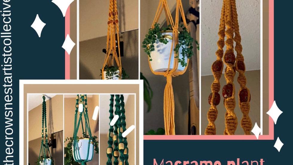 Macramé Plant Hanger Workshop April 16th