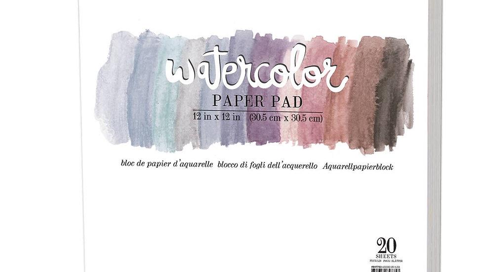 12x12 watercolour pad 140lb
