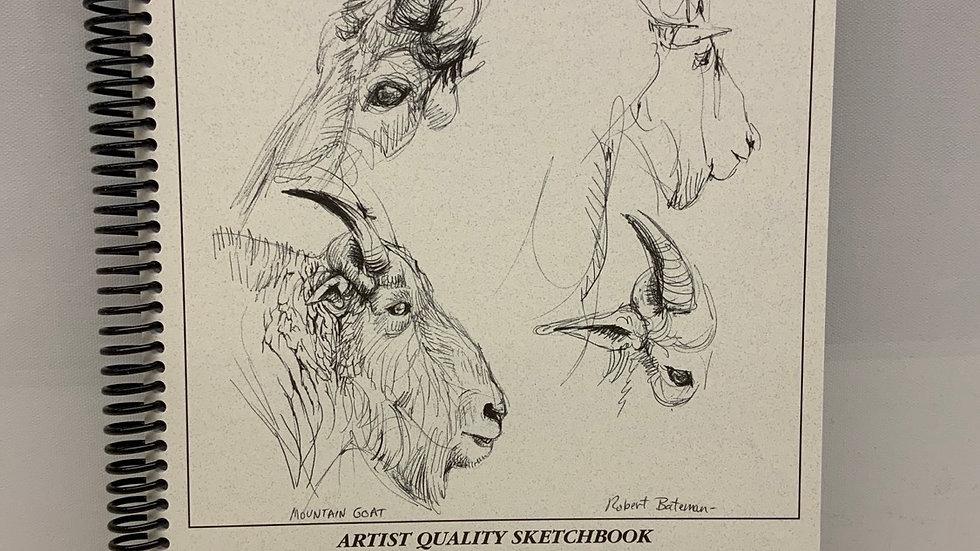 """Robert Bateman Sketchbook 8.5"""" x 11"""""""