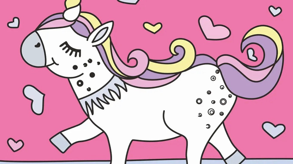 Unicorn - Paint by Number Kit