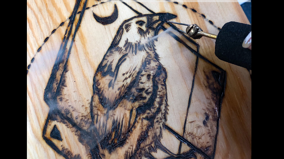 Wood burning for beginners April 10th