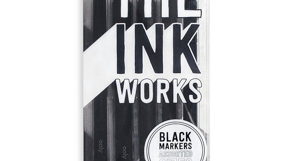 Set of 5 Artist Markers 05 to brush