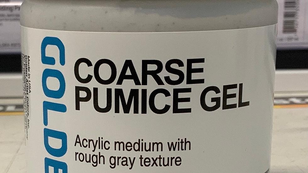 Golden Coarse Pumice Gel