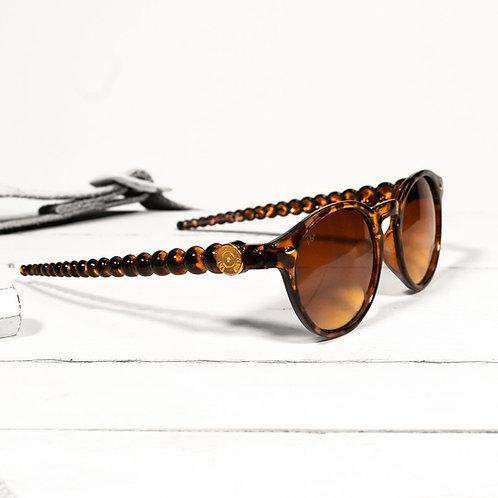 Sunglasses - Post/Brown Tortoise
