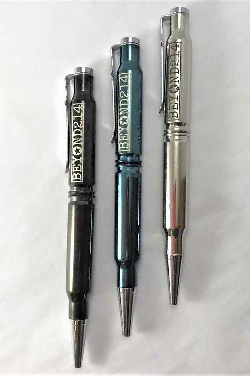 Coated Bullet Pen
