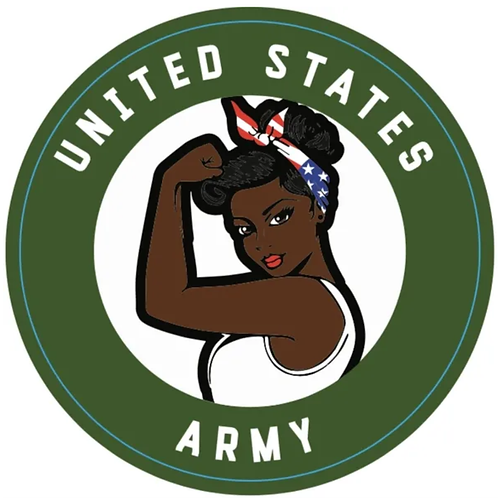 ARMY Female Decal