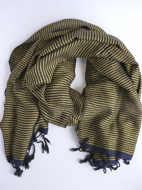 Maha Striped Scarf