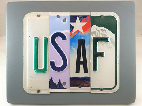 License Plate Military