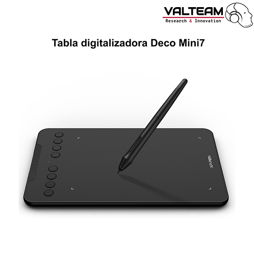 Tabla digitalizadora Deco Mini7