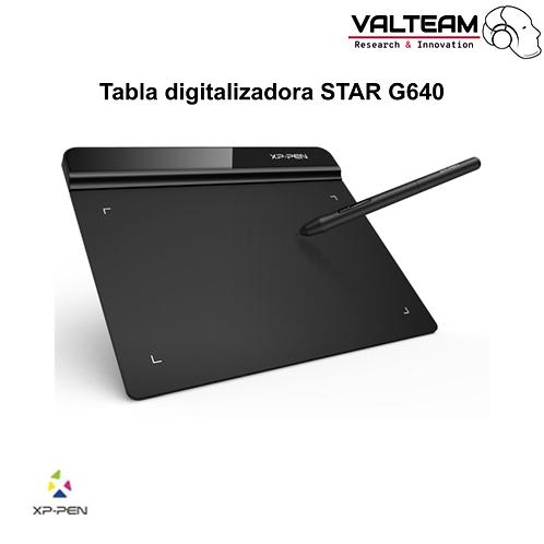 Tabla digitalizadora STAR G640