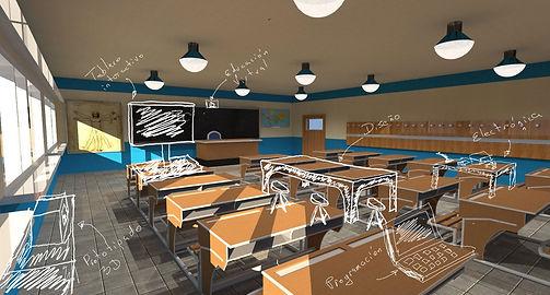 aulas interactvas especializads makerpace bogota colombia
