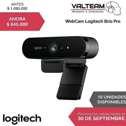 WebCam Logitech Brio Pro