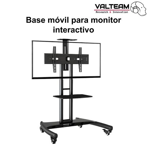 """Base móvil para monitor interactivo 65"""""""