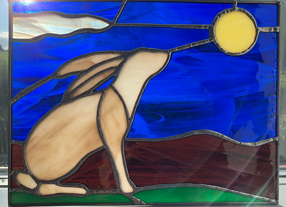 Hare and Moon Panel