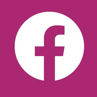 Facebook Logo (Pink)