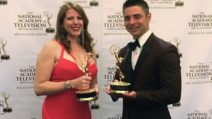 Three Years in a Row! 2017 Emmy® Awards...
