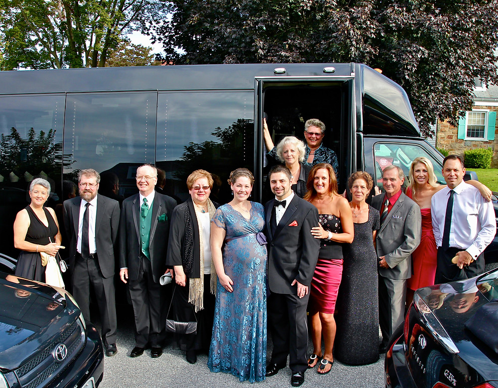 FireRock with family, friends, & mentors on the way to the 2013 Mid-Atlantic Emmy® Awards