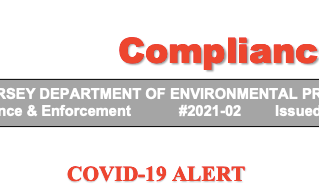 NJDEP Compliance Advisory Sunset Provision on Air Permitting Covid Extension