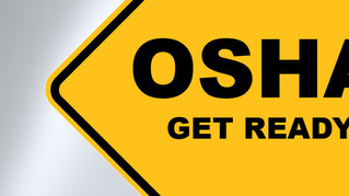 OSHA Injury/Fatality Reporting Rule Changes