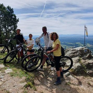 Oggi bel tour in  e-bike , divertente e