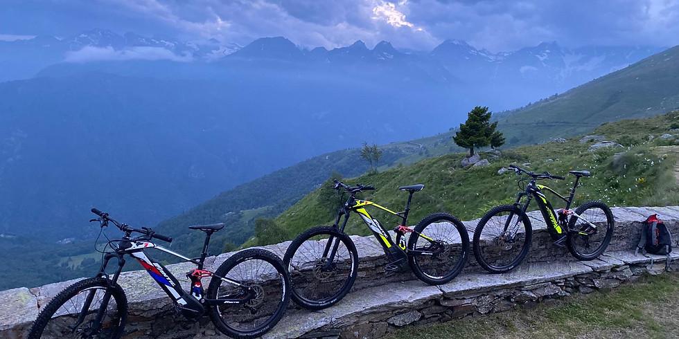 Notturna in E-bike al Ciavanis