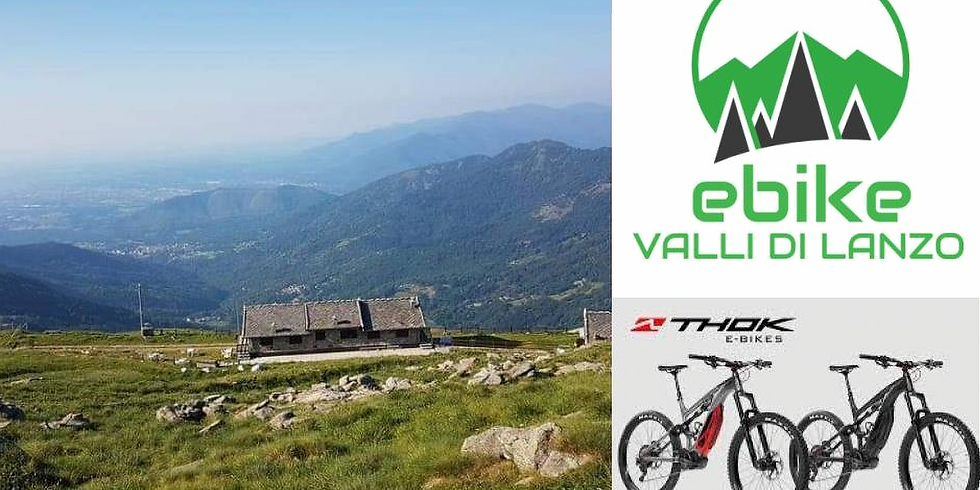 E-bike tour al monte Soglio con pranzo al rifugio Alpe Soglia