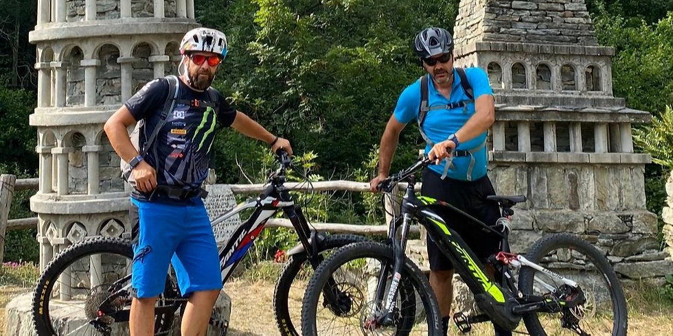 Tour in e-bike Vecchie miniere e Lago di Monastero