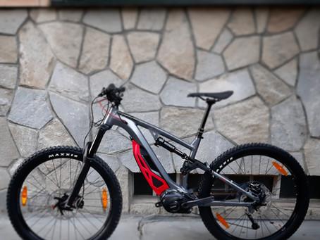 Le nostre e-bikes a noleggio: