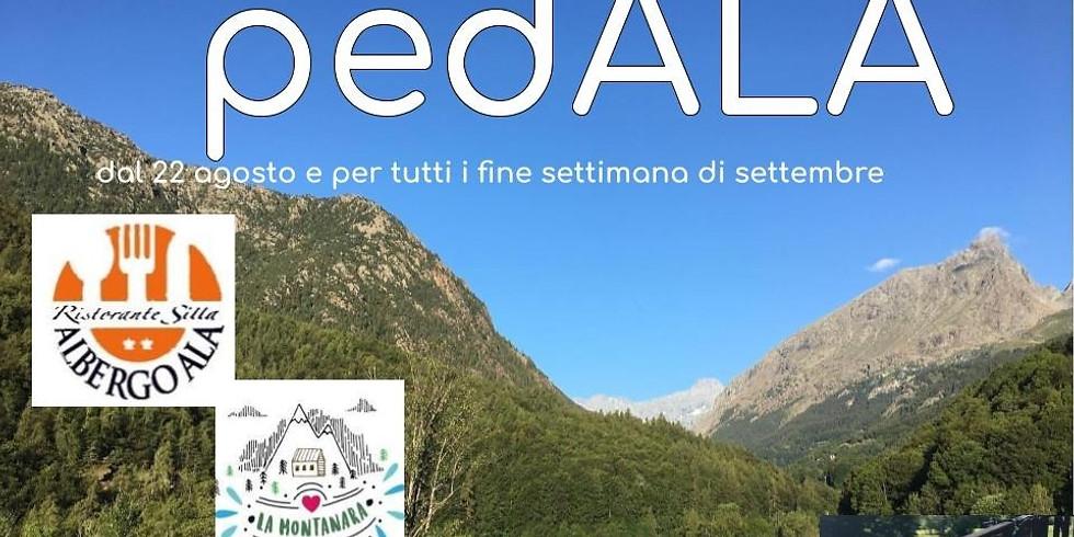 pedALA , sabato e domenica in e-bike ad Ala di Stura