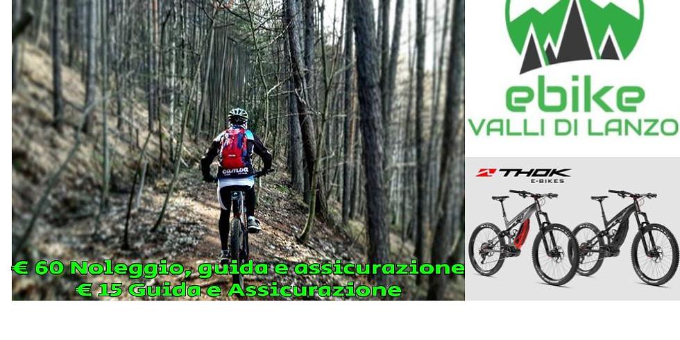 Tour in E-bike a Sant'Ignazio..sabato 1 febbraio (livello capacità medio/alta)