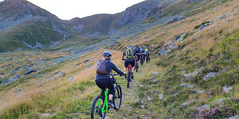E-bike Tour a quota 2000mt, Pian Fum