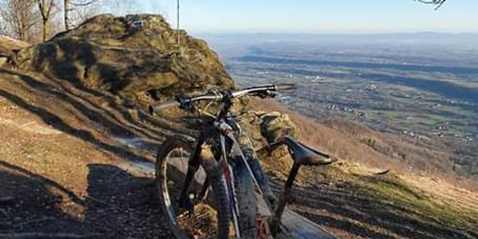 Tour serale in e-bike a Rocca C.se - Mulino Val  e Madonna della neve