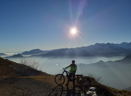 Con l' e-bike si può arrivare in alto anche senza avere un allenamento specifico