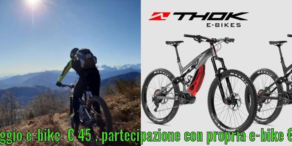 Tour in E-bike .. Madonna della Neve Rocca...