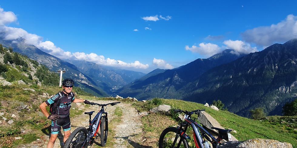 Speciale mese di Agosto in e-bike a Cantoira -  TUTTI I MERCOLEDì E VENERDì DI AGOSTO