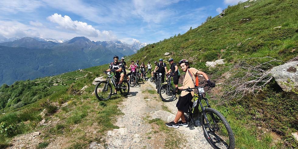 Speciale mese di Agosto in e-bike a Vonzo