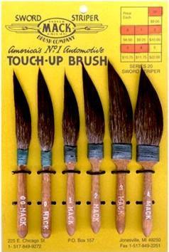Series 10 Pinstriper Brushes