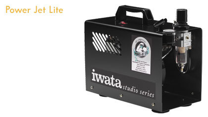 Iwata IS-925 silent air compressor