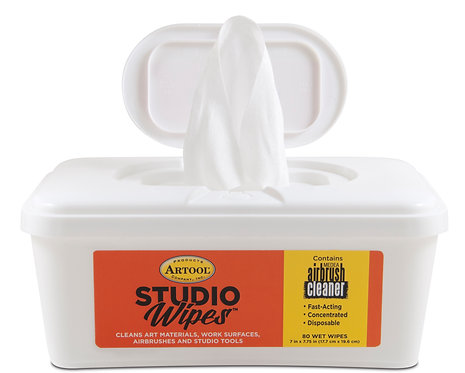 NEW! Studio Wipes Dispenser Tub of 80 - 660080