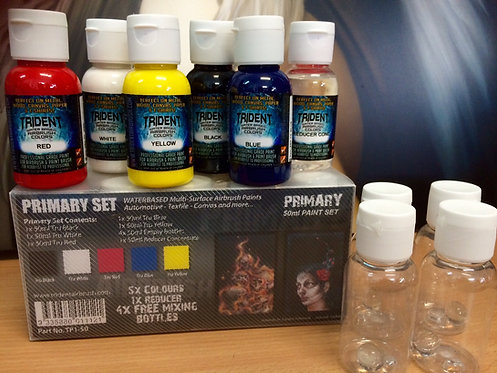 Trident - NEW! Primary Paint Set