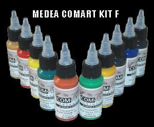 Medea Kit F Transparent Secondary Colour Set
