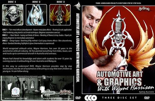 Automotive Art & Graphics with Wayne Harrison - Educational DVD