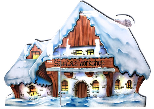 Santa's Workshop Cutout